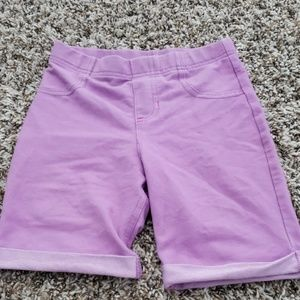 🎀4/$25.🎀 purple shorts size 7